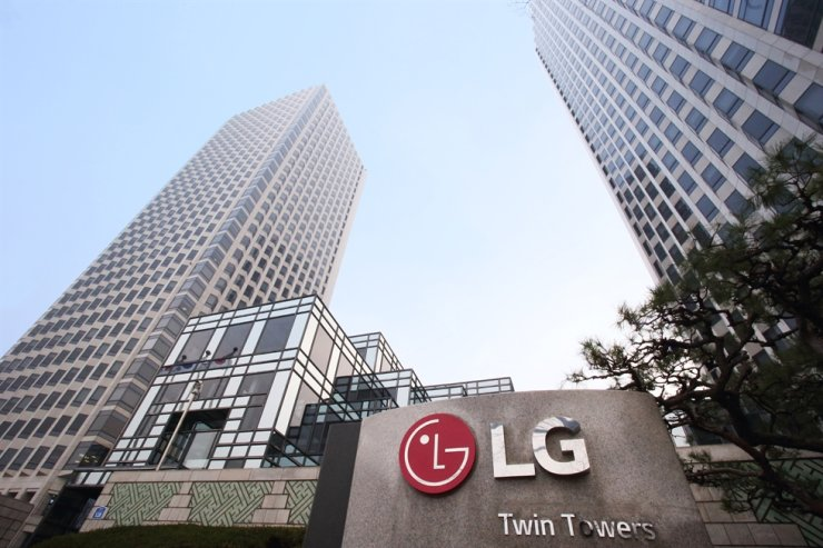LG Twin Towers in Yeouido in Seoul's Yeongdeungpo-gu District houses LG Group's main affiliates like LG Electronics, LG Chem and LG Display. Courtesy of LG Group