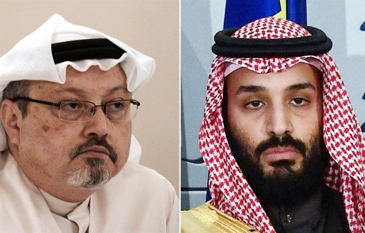 This combination of pictures shows Saudi journalist Jamal Khashoggi, left, and Saudi Arabia's crown prince Mohammed bin Salman. AFP