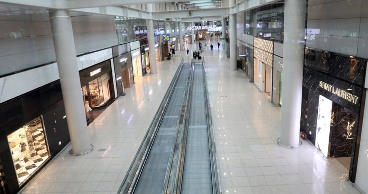 Duty-free shops at Incheon International Airport, Thursday / Yonhap