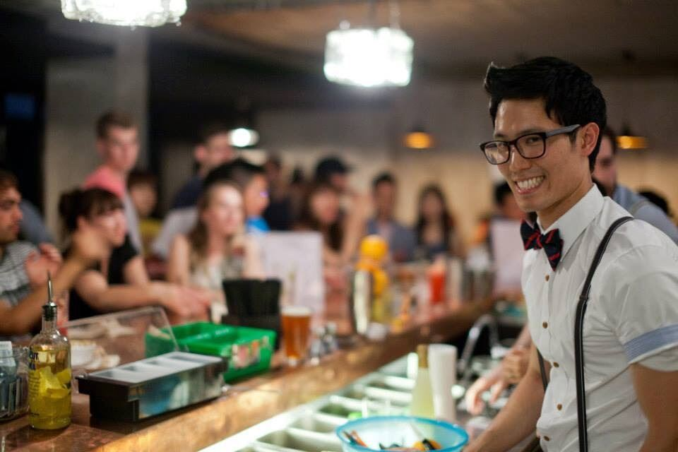 Bobby Kim, one of the co-owners of Southside Parlor / Courtesy of Robert Michael Evans