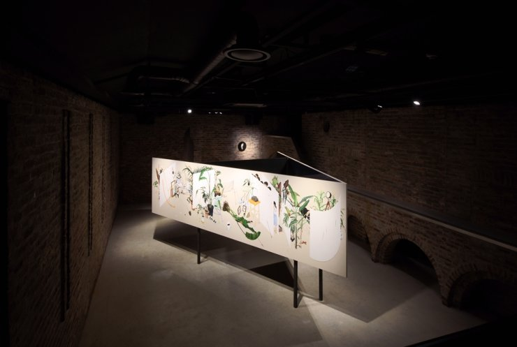 Installation view of Lee Jin-ju's exhibition 'The Unperceived' at Arario Museum in Space in central Seoul. Courtesy of Arario Museum