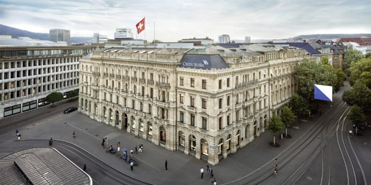 Credit Suisse headquarters in Switzerland / Courtesy of Credit Suisse