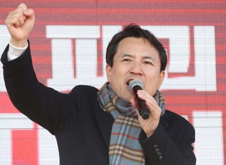 The People Power Party's former Rep. Kim Jin-tae. Korea Times file