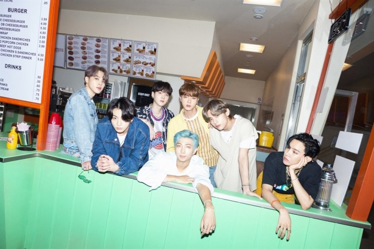 K-pop titan BTS debuted at No. 1 on the Billboard Hot 100 chart with its latest single 'Dynamite.' Courtesy of Big Hit Entertainment
