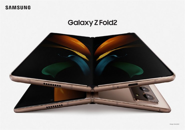 Samsung Galaxy Z Fold 2 / Courtesy of Samsung Electronics