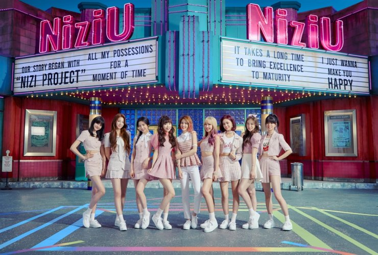 All members of 'K-pop girl group' NiziU are Japanese. Courtesy of JYP Entertainment