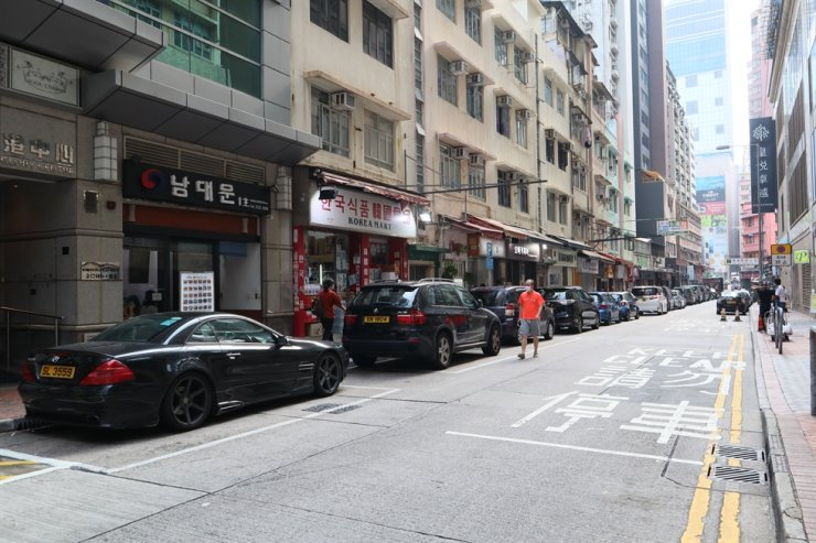Kimberley Street, widely considered Hong Kong's 'Little Korea' / Courtesy of Jericho Li