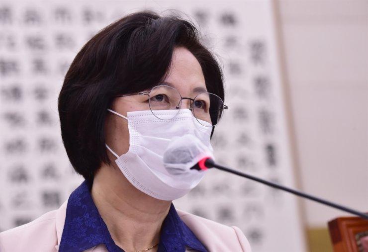 Justice Minister Choo Mi-ae / Yonhap