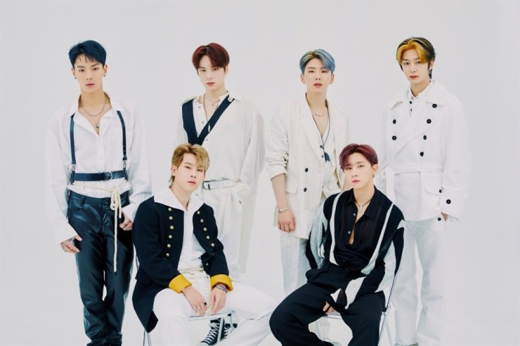 K-pop boy band Monsta X. Courtesy of Starship Entertainment