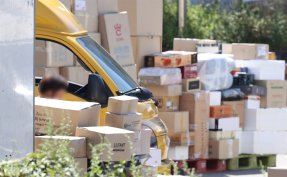 Delivery workers retract plan to suspend parcel sorting amid gov't support pledge