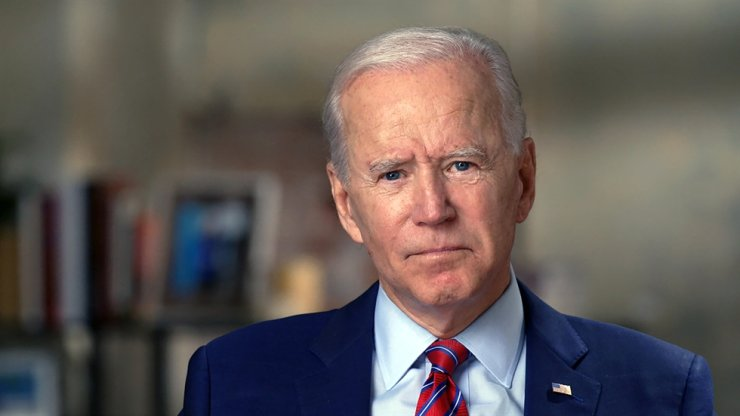 This image provided by CBSNews/60 MINUTES shows former Vice President Joe Biden, Monday, Oct. 19, 2020, in an interview conducted by Norah O'Donnell in Wilmington, Del. AP
