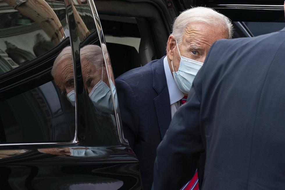 In this file video grab made on Aug. 20, 2020, from the online broadcast of the Democratic National Convention, shows former vice-president and Democratic presidential nominee Joe Biden's son Hunter Biden speaking during the last day of the convention. AFP