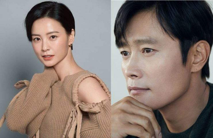 Jung Yu-mi, left, and Lee Byung-hun / Courtesy of Management Soop and BH Entertainment