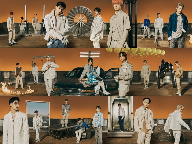 K-pop boy band NCT has dominated Gaon's weekly album chart with its latest album 'NCT ― The 2nd Album RESONANCE Pt.1.' Courtesy of SM Entertainment