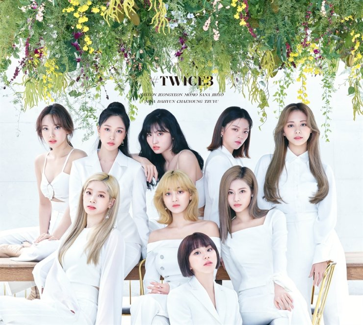 TWICE. Courtesy of JYP Entertainment