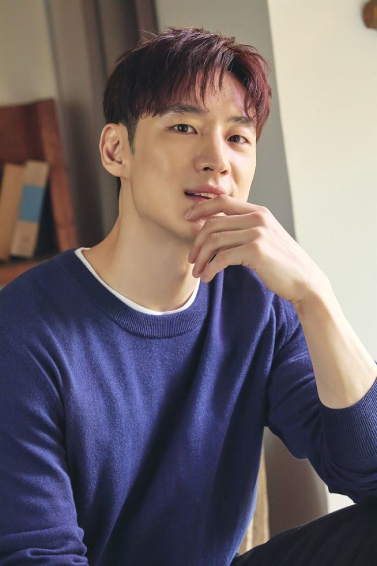 Actor Lee Je-hoon poses after an interview with The Korea Times at a cafe in Seoul, Friday. / Courtesy of CJ Entertainment