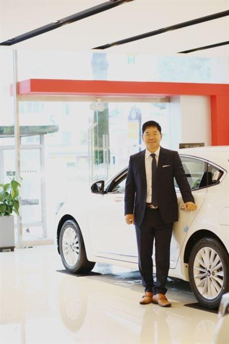Kia Motors general manager Sim Dong-seob / Courtesy of Kia Motors