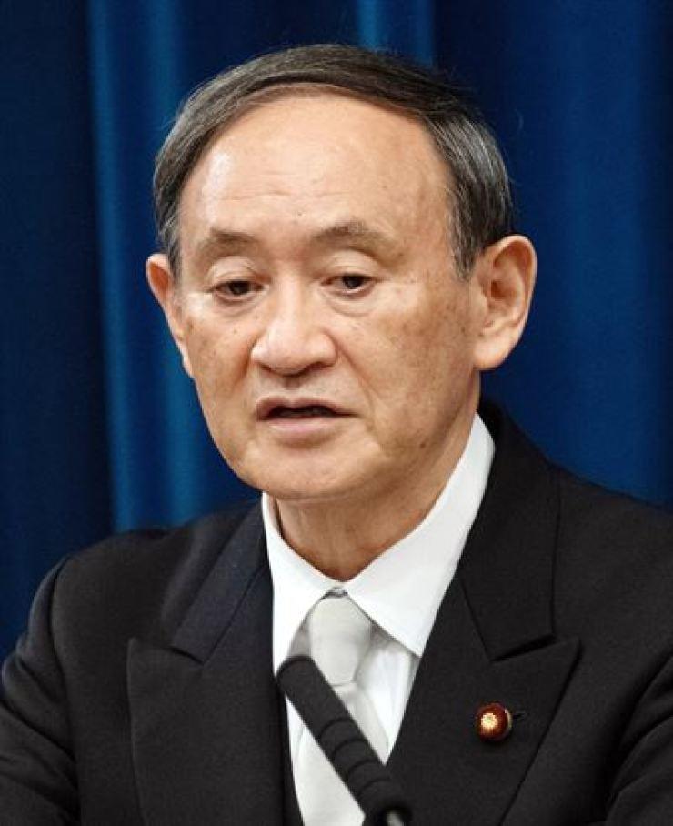 Japanese Prime Minister Yoshihide Suga / Yonhap