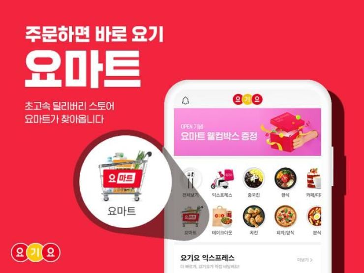 Delivery Hero introduces its new fulfilment store Yo Mart. / Courtesy of Delivery Hero Korea