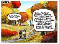 Autumn distraction