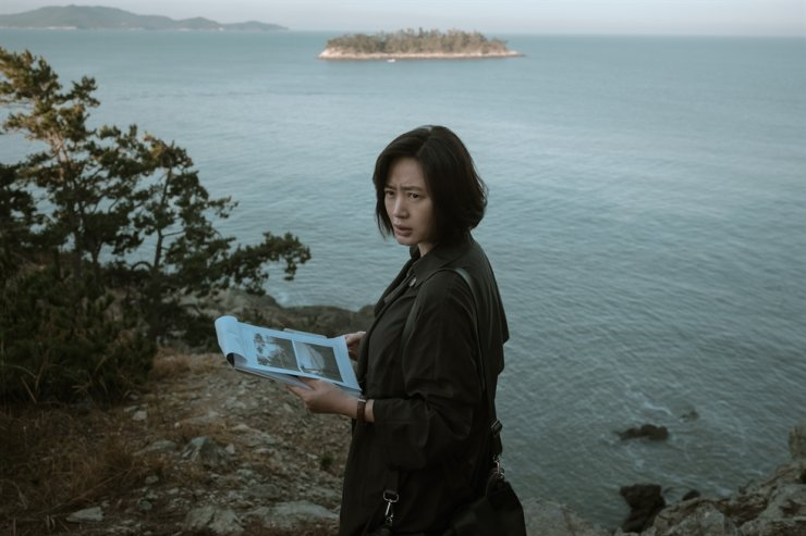 Kim Hye-soo in a scene from the film 'The Day I Died' / Courtesy of Warner Bros. Korea