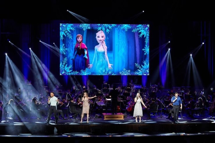 A performance of 'Disney In Concert' in 2019 Courtesy of Credia