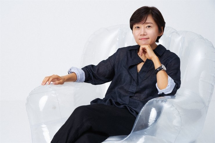 Director Lee Kyoung-mi poses after a video interview with The Korea Times, Oct. 5. / Courtesy of Netflix