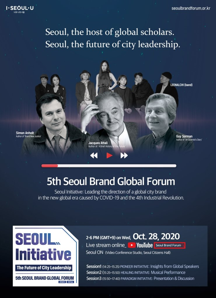 The fifth Seoul Brand Global Forum poster