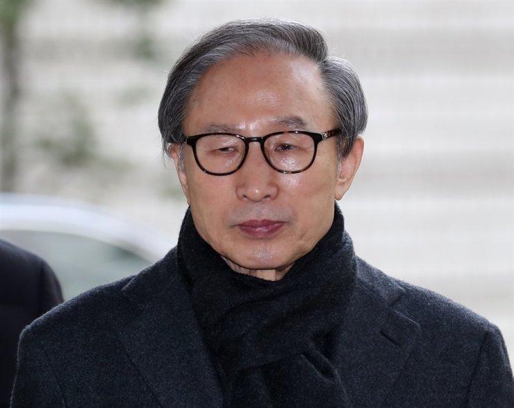 Former President Lee Myung-bak / Yonhap