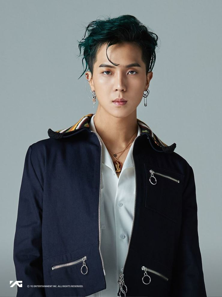 Rapper Song Min-ho, better known as Mino, will release his second solo album on Oct. 30. Courtesy of YG Entertainment
