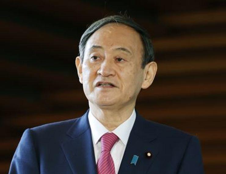Japanese Prime Minister Yoshihide Suga. / Yonhap