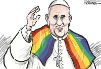 Pope's support of LGBTQ