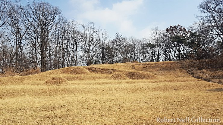 Graves near Goyang in March 2020. Robert Neff Collection