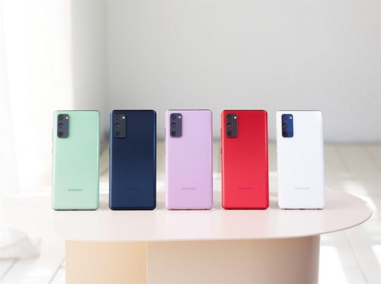 Samsung Electronics' Galaxy S20 FE smartphones / Courtesy of Samsung Electronics