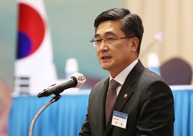 Defense Minister Suh Wook / Yonhap