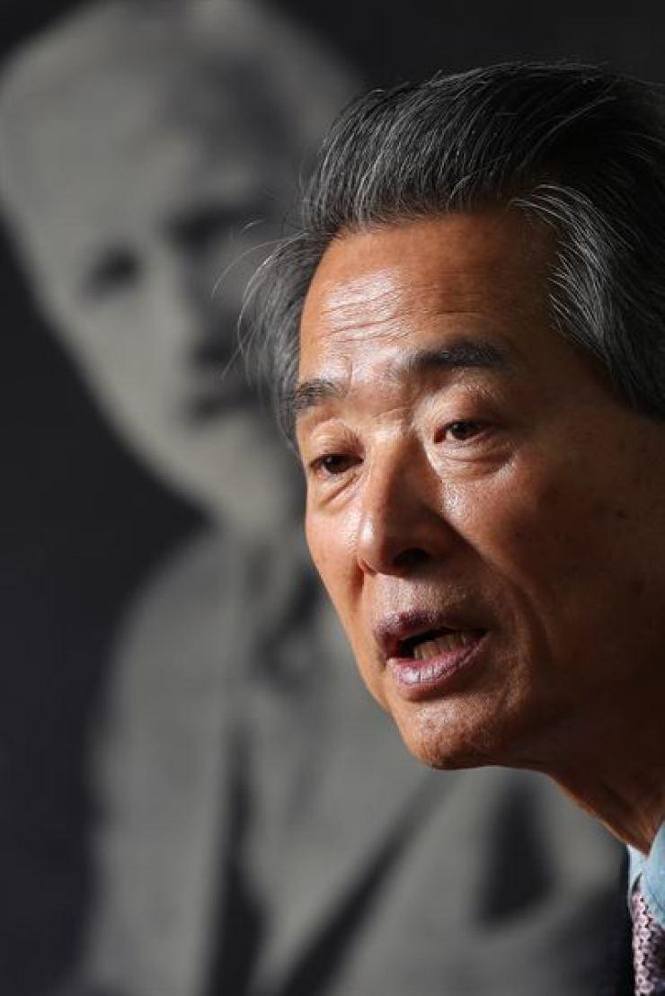 Kim Dong-jin, chairman of Hulbert Memorial Society