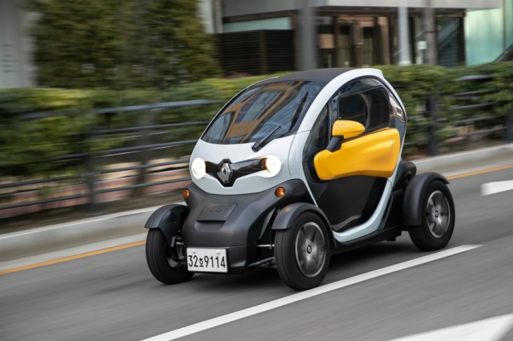 Renault Samsung's electric vehicle Twizy / Courtesy of Renault Samsung