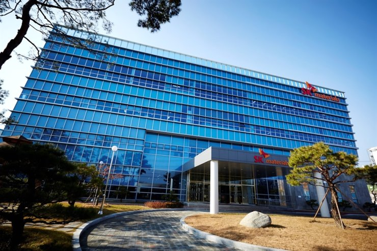 SK Materials headquarters in Yeongju in North Gyeongsang Province. / Courtesy of SK Materials