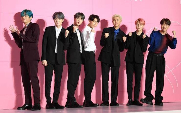 K-pop boy band BTS. Korea Times file