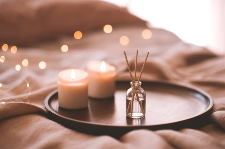 Some travelers believe scented candles are essential items for their trip, using the scent as a powerful memory agent to relive moments. / Courtesy of Expedia