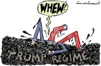Trump regime ends