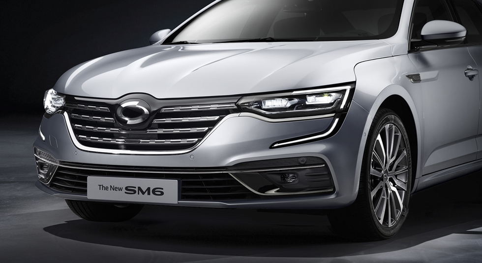 Renault Samsung Motors' new SM6 sedan. / Courtesy of Renault Samsung Motors