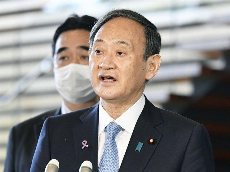 Japanese Prime Minister Yoshihide Suga / AP