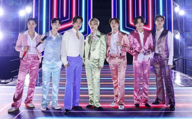 K-pop titan BTS sold more than 4 million copies of its album 'MAP OF THE SOUL : 7,' released in February. Courtesy of Big Hit Entertainment