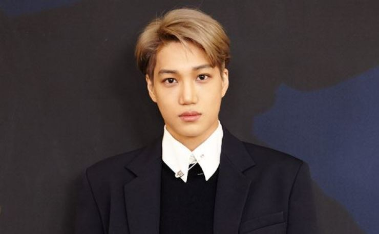 Kai of K-pop boy band EXO is slated to release his first solo album 'KAI' on Monday afternoon (KST). Courtesy of SM Entertainment