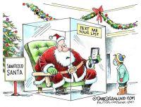 Sanitized Santa