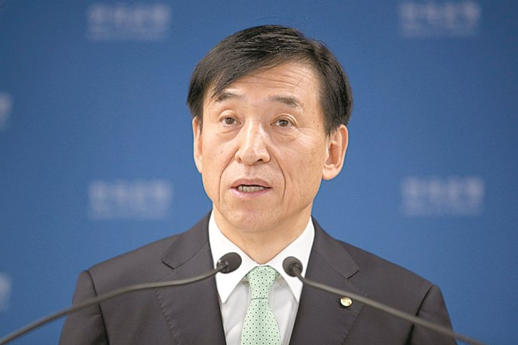 Bank of Korea Governor Lee Ju-yeol. Korea Times file