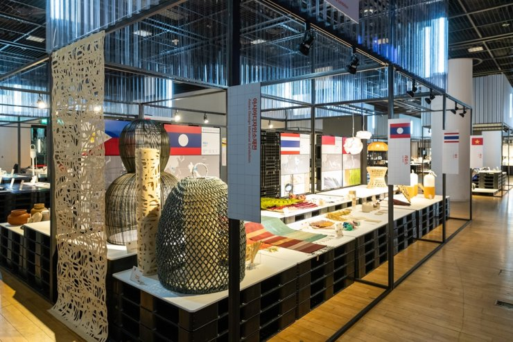 Southeast Asian goods are showcased at Asia Design Material Exhibition, an online campaign from Nov. 19 to Dec. 18 to raise awareness toward ASEAN design trends. / Courtesy of ASEAN-Korea Centre