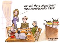 Muted Thanksgiving