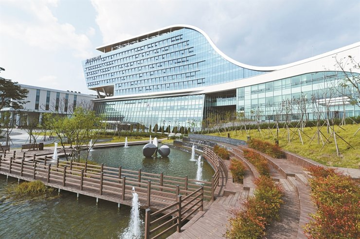 Korea Gas Corporation headquarters in Daegu / Courtesy of KOGAS